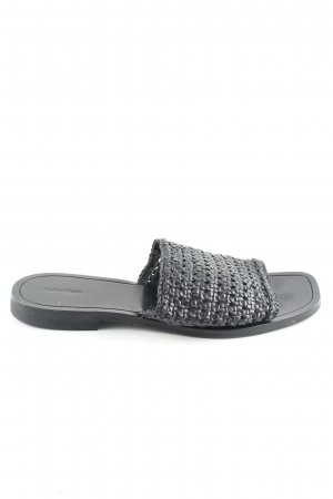& other stories Strandsandalen schwarz Casual-Look