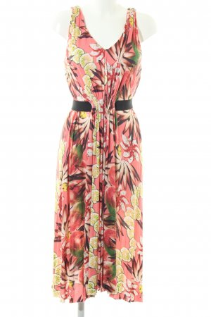 & other stories Stretch jurk roze volledige print casual uitstraling