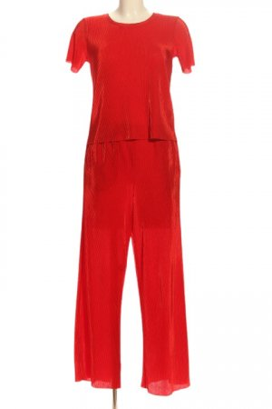 & other stories Twin set in maglia rosso elegante