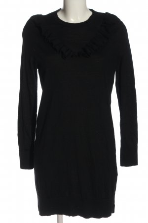 & other stories Robe en maille tricotées noir torsades style décontracté