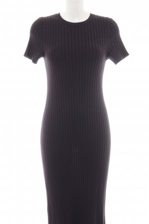 & other stories Strickkleid lila Casual-Look