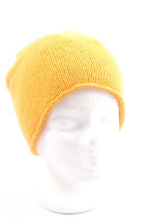 & other stories Chapeau en tricot jaune primevère style décontracté