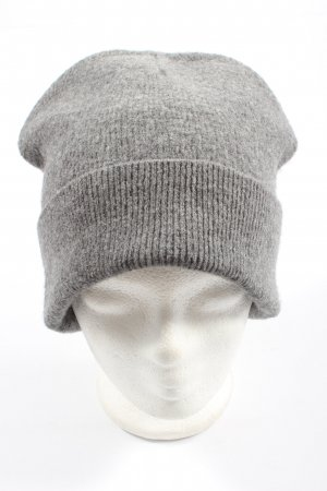 & other stories Knitted Hat light grey casual look