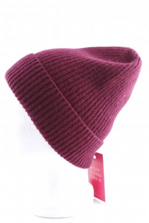 & other stories Knitted Hat bordeaux casual look