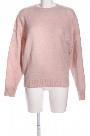 & other stories Strickpullover pink meliert Casual-Look