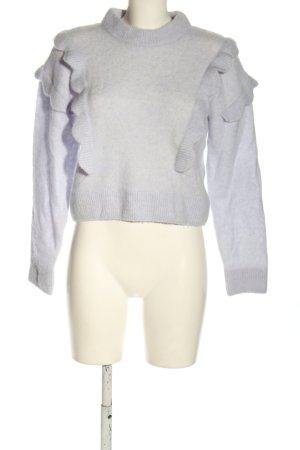 & other stories Pull tricoté violet style décontracté