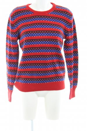 & other stories Strickpullover Allover-Druck Casual-Look