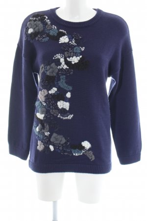 & other stories Strickpullover abstraktes Muster Casual-Look