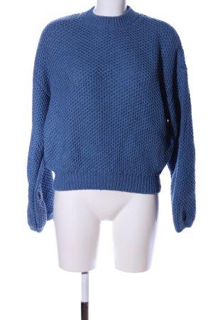 & other stories Gebreide trui blauw casual uitstraling