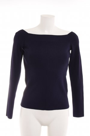 & other stories Strickpullover dunkelblau Casual-Look