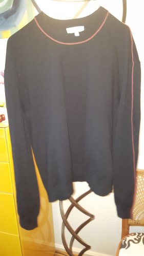 & Other Stories Strickpullover Galon schwarz Gr.S