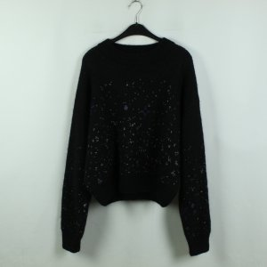 & other stories Strickpullover Gr. M schwarz oversized (20/09/389*)