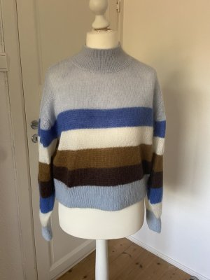 AndOtherStories Knitted Sweater multicolored mohair