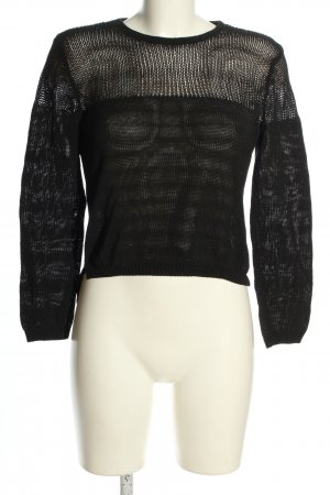 & other stories Knitted Jumper black casual look