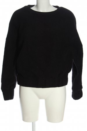 & other stories Sweat Shirt black casual look