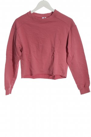 & other stories Sweat Shirt pink casual look