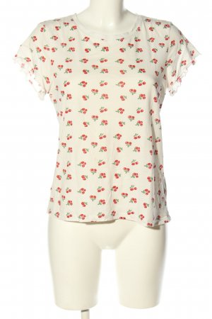 & other stories T-Shirt Allover-Druck Casual-Look