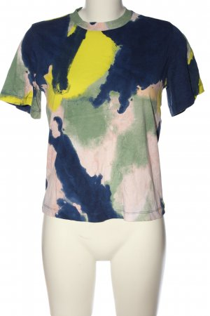 & other stories T-Shirt abstraktes Muster Casual-Look