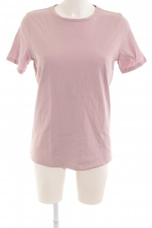 & other stories T-shirt mauve casual uitstraling