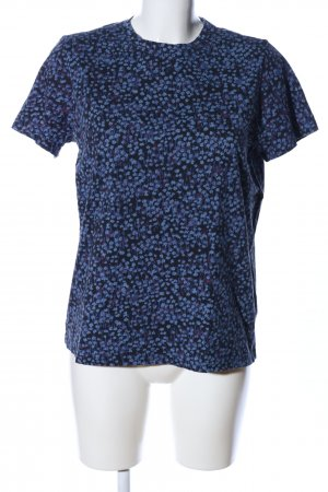 & other stories T-Shirt blau Blumenmuster Casual-Look