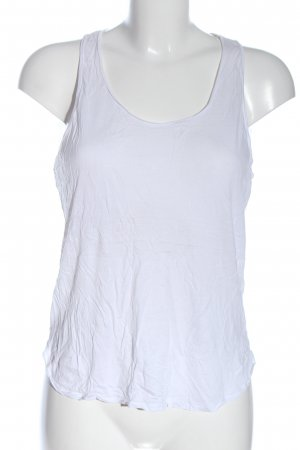 & other stories Camiseta sin mangas blanco look casual