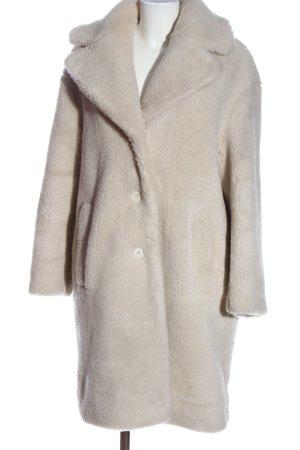 & other stories Pluszowy płaszcz w kolorze białej wełny W stylu casual