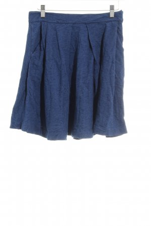 & other stories Circle Skirt blue flecked casual look