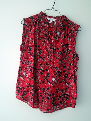 & other stories Mouwloze blouse veelkleurig
