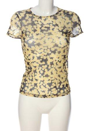 & other stories Transparentna bluzka Wzór w kwiaty W stylu casual