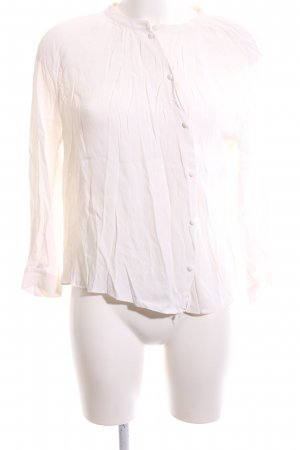 & other stories Transparenz-Bluse creme Business-Look