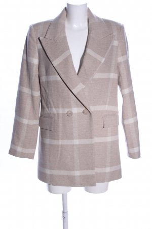 & other stories Between-Seasons-Coat brown-natural white check pattern