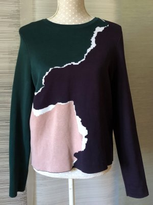 AndOtherStories Jersey de cuello redondo multicolor Algodón