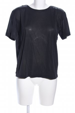 & other stories Cowl-Neck Shirt black casual look