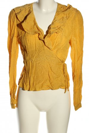 & other stories Blusa cruzada naranja claro look casual