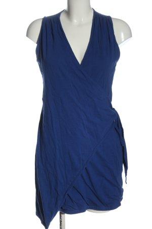 & other stories Kopertowa sukienka niebieski W stylu casual