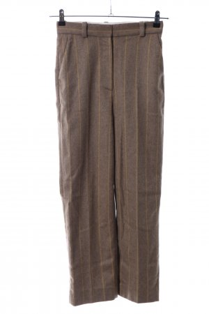 & other stories Wollhose braun-blassgelb meliert Casual-Look