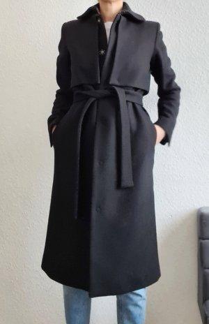 AndOtherStories Cappotto in lana nero Lana d'alpaca