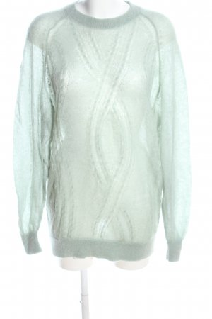 & other stories Wollpullover türkis Casual-Look