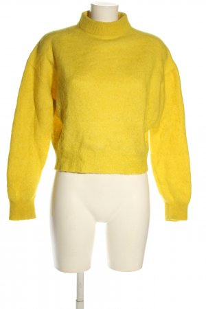 & other stories Jersey de lana amarillo pálido look casual