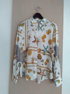 & Other Stories wunderschöne Hemdbluse aus Viskose, Paris Atelier, Grösse 38, neu