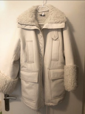 & other stories Fur Jacket natural white