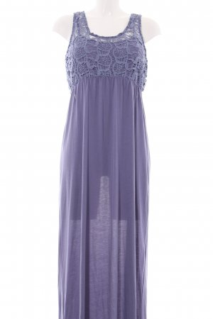 Others Follow Maxikleid lila Blumenmuster Party-Look