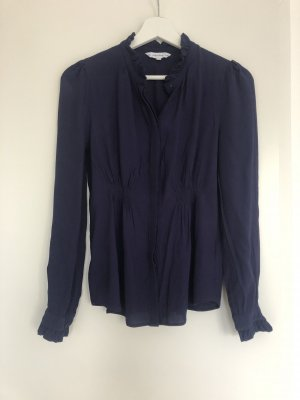 & other stories Ruffled Blouse blue