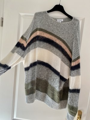 &otjer Stories Oversized Pullover Knitwear gestreift Wollmix Gr. S-M