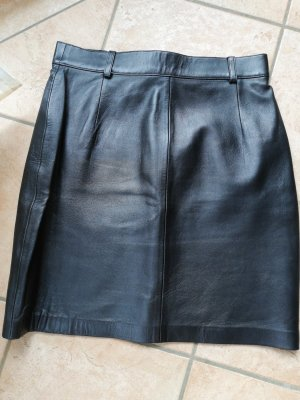 Ottimo Leren rok zwart