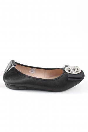 Otto Kern Foldable Ballet Flats black casual look