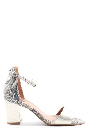 Otto Kern High Heel Sandaletten Animalmuster Elegant