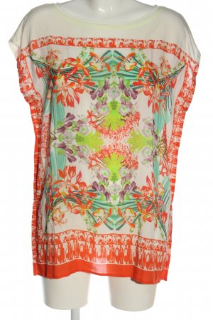 Otto Kern Short Sleeved Blouse allover print casual look
