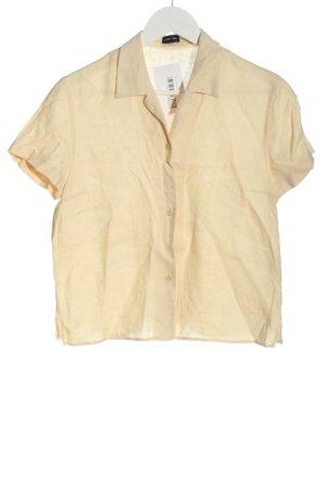 Otto Kern Short Sleeve Shirt cream casual look