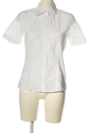 Otto Kern Short Sleeve Shirt white casual look